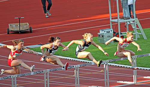 Corsa ad ostacoli atleti olimpiadi