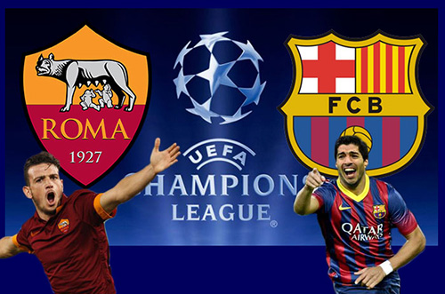 Champions League Roma - Barcelona:...