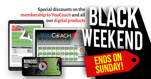 YouCoach's Black weekend has started!