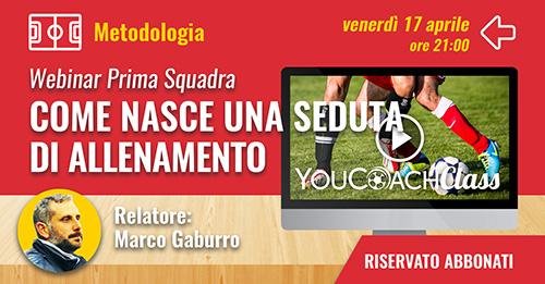 YouCoachClass webinar prima squadra metodologia