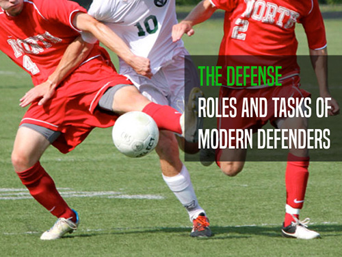 Goalkeeper and defenders: an...