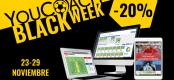 Comienza la Black Week de YouCoach ... ¡20% de descuento en todos los productos!