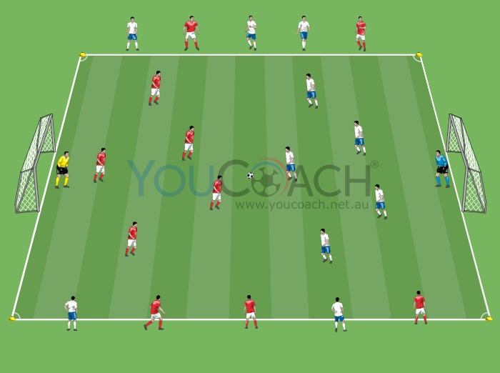 Thematic match to train intensity and pressing